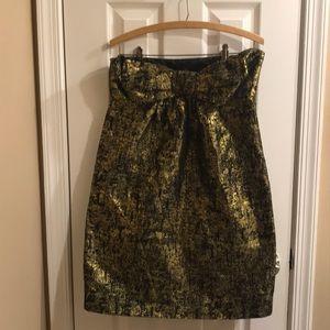 ⚡️FINAL PRICE⚡️ Rare Moschino strapless bow dress